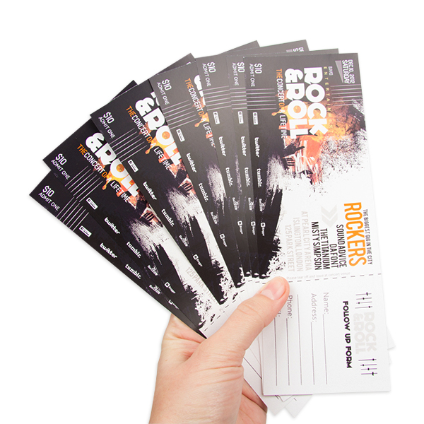TICKETS / COUPONS
